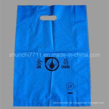 LDPE Einkaufstasche in Farbe mit Druck