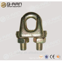 Galvanized malleable Type A wire rope clips rigging