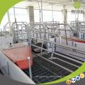 Dauerhafte Schwein-Bauernhof-Ausrüstung Galvanisiertes Geflügelbauernhofdesign für Schweine