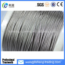 Galvanized High Tensile Elevator Wire 8x19 Steel Wire Rope