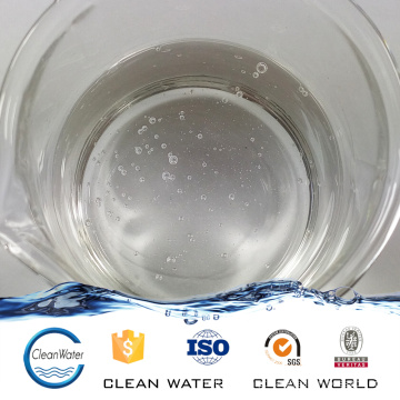 PolyDADMAC PolyDMDAAC para produtos químicos de piscinas Polímero catiônico Polydadmac