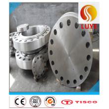 Fixation et bride de fixation en acier inoxydable pour équipement industriel