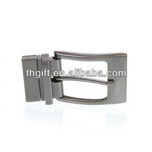 Kundenspezifische Metallgürtelschnalle mit Silberbeschichtung