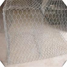 Boîte en treillis métallique Gabion en acier recouvert de PVC