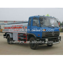 15000 litros caminhão-tanque de combustível Dongfeng combustível caminhão capacidade caminhão