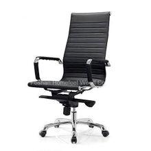 Melhor preço PU couro giratório Office Manager cadeira (HF-A183)