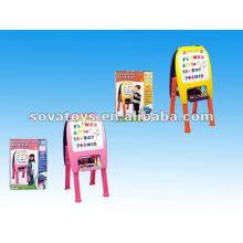 2012 miúdos que escrevem o brinquedo da placa com carrinho