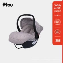 Cinturón de bebé recién nacido fijo con cinturón de seguridad