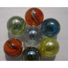 Marbre en verre jouet, marbre jouet, usine OEM, producteur