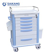 SKR039-MT ABS Moving Economy Medicine Anesthesia Nursing Trolley