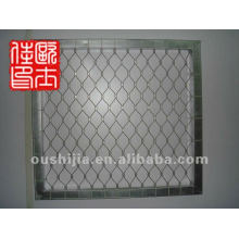 non-rust steel bird security screen stainless steel wire mesh