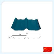 China Wiskind hochwertige Stahlplatte für Dach oder Wand