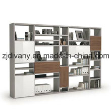 2015 Latest Italian Style Wooden Bookcase (SG-08D)