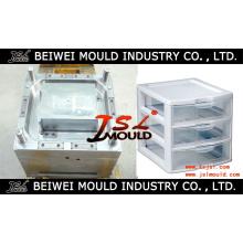 Fabricante de molde de armário de gaveta de plástico na China