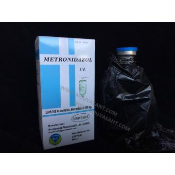 Customized for Antifungal Drugs, Griseofulvin Drugs, Clotrimazole Drugs in China Metronidazole Intravenous Infusion 500mg/100ml export to Iceland Suppliers