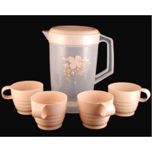 Plastic Cool Water Jug mit 4 Cups