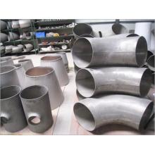 Dimensiones precisas Codos de tubería de aleación de titanio