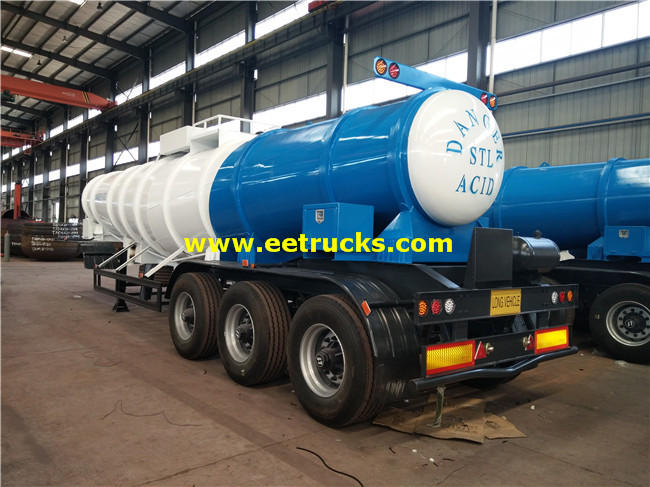 19ton H2SO4 Delivery Tanker Trailers