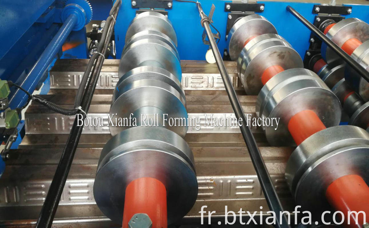 floor decking machines