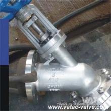 """ANSI # 900lb 2 """"/ 4"""" / 6 """"alta presión CF8m tanque inferior válvula"""