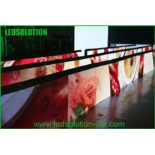 Masque en plastique souple et affichage à LED extérieur moulé sous pression en aluminium