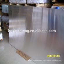 Plaque de brasage en aluminium 3003