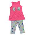 Summer Sun Flower Baby Girl Costume pour enfants pour vêtements pour enfants SGS-110
