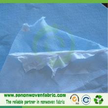 Tela no tejida laminada de PP + PE para el delantal médico