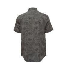 Новая мужская повседневная модная тонкая рубашка больших размеров