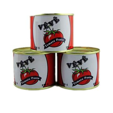 Dosen Tomate Paste-Veve Marke