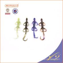 SLL086 Оптовая свободный образец мягкой рыболовные приманки мягкие пластиковые приманки ящерица