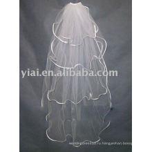 2010 Новый Стильный Трехслойная Свадебная Фата ! ! ! AN2104