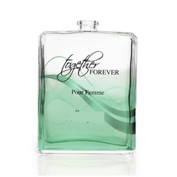 Bouteille de parfum en verre pour bouteille de parfum