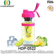 Botella plástica de la infusión de la fruta del BPA plástico 32oz, botella del infuser de la fruta de Tritan (HDP-0522)