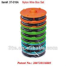 Juego de alambre de nylon para piezas de marco de gafas