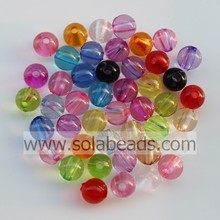 Christmas 30MM Plastic Round Gemstone Tiny beads