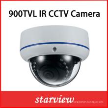 900tvl CMOS IR Vandalproof Fixed Lens Dome CCTV Caméra de sécurité
