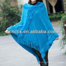 13STC5502 Dame Poncho Pullover Wolle Ponchos Umhänge