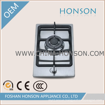 Stainless Steel 1 Burners Gas Hob Gas Cooktop