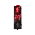 O temporizador digital da contagem regressiva de 300mm conduziu a luz do pedestre do tráfego