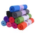Tapete de ioga impresso em pvc de alta densidade ecológico