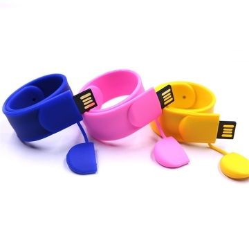 Custom+Personalised+Bracelet+Wristband+Usb+Flash