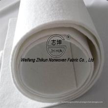Vários cor agulha perfurada não-tecido geotêxtil com alta qualidade