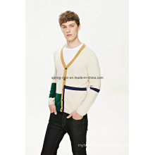 Manufactory ODM Knitwear Man Sweater Cardigan