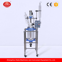 Factory Direct Sale Lab Jacketed Glass Reactor