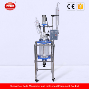 Lab Chemical 10L Jacketed Glass Reactor