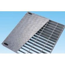 Reja de acero compuesta para usos pesados
