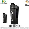 700ml botella de la coctelera de proteína (HD-SB-700) modificado para requisitos particulares