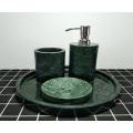Индийские зеленые гранитные аксессуары для ванной комнаты