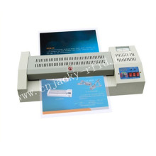Uso de la oficina A3 / A4 PVC Tamaño de la hoja de papel laminado en caliente Máquina de laminador